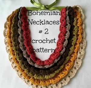Bohemian Necklace pattern on Craftsy