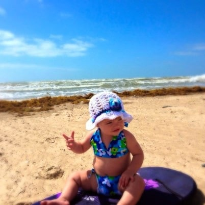 free crochet pattern for toddler beach hat
