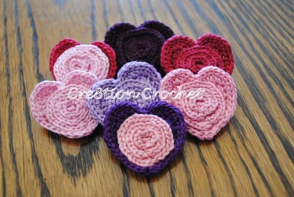 free heart pin pattern crochet