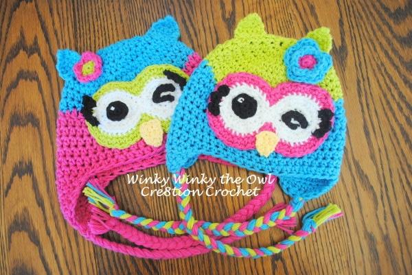 Free Crochet Pattern Owl Hat : free owl hat crochet patterns Car Tuning