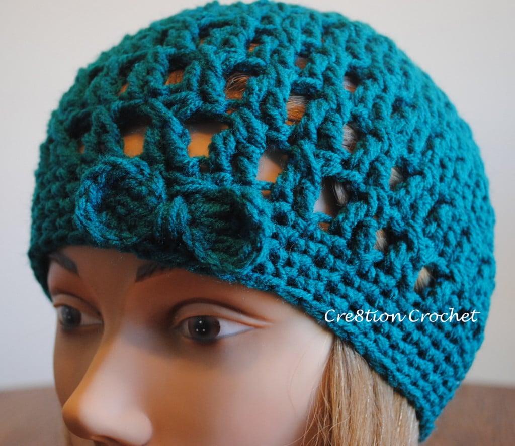 free crochet hipster hat pattern