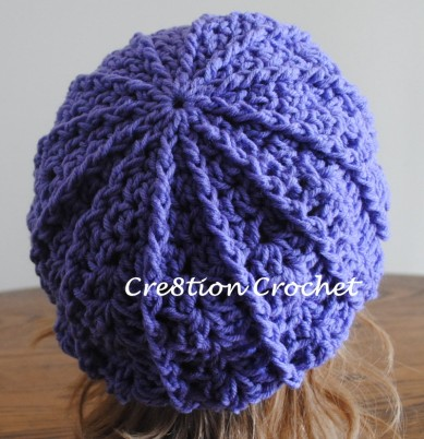 newsboy slouch free pattern back