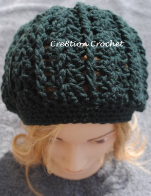 womens slouch hat with optional brim free pattern