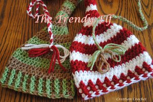 The Trendy Elf free crochet pattern