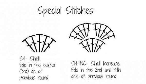 Pixie shell bonnet newborn 3months cre8tion crochet diagram ccuart Images