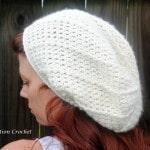 super soft slouch hat free crochet pattern