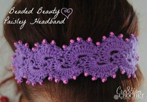 Queen Anne S Lace Headband Cre8tion Crochet
