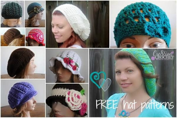 Free Spring Crochet Hat Pattern Beverlys Cloche In Vannas Choice