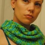sea breeze summer cowl free crochet pattern