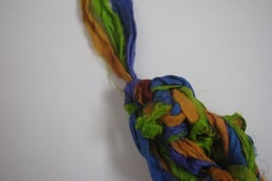 dgy silk arm knit necklace 002