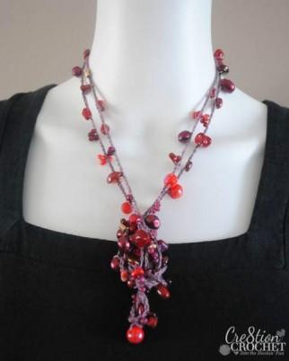 Super Versatile Crochet Bead Necklace Cre8tion Crochet