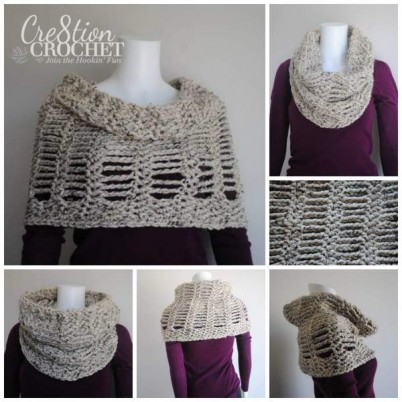 Cityscape Convertible Cowl FREE pattern giveaway- limited time- giveaway ends 04/01/14