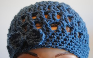 featured image free crochet hipster hat pattern