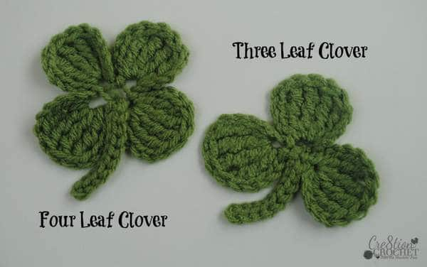 three and four leaf clover