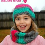 winter waves chevron cowl and semi slouch toddler size free patterns