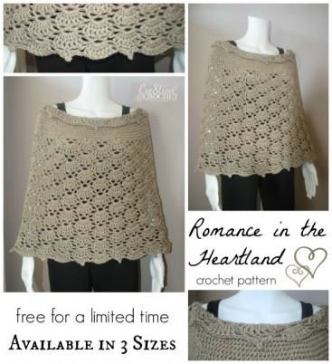 ~ Romance in the Heartland ~ FREE for a limited time ~ Available in 3 sizes #cre8tioncrochet