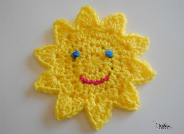 Sun Applique