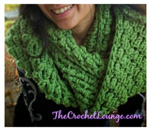The Crochet Lounge Cowl