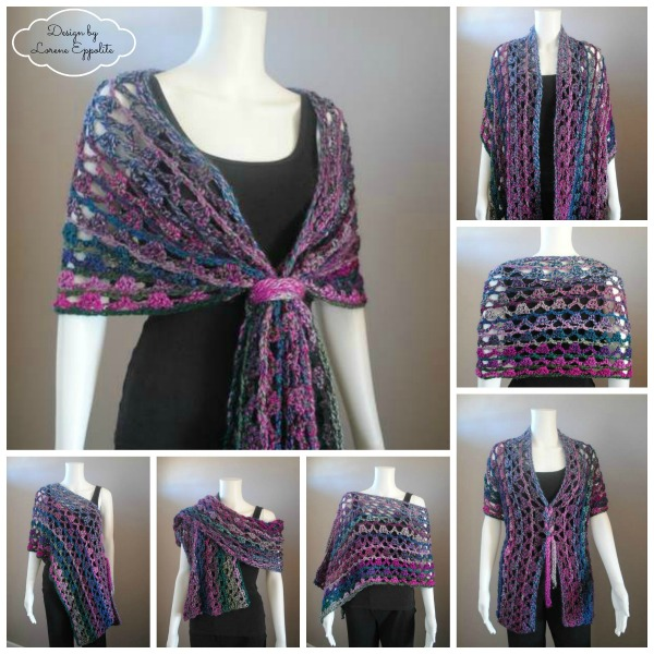 ~ Unique Multi Wear Wrap designed by Lorene Eppolite ~