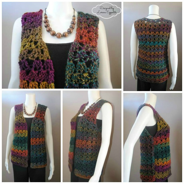 ~ Unique Shell Vest designed by Lorene Eppolite ~