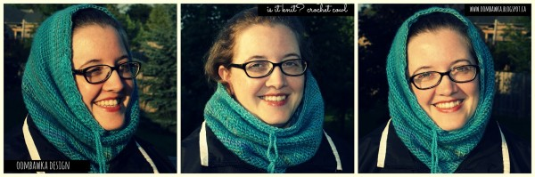 oombawka is it knit crochet cowl