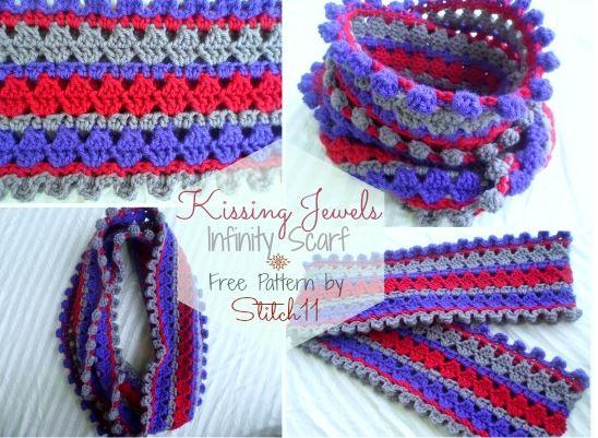 stitch11 kissing jewels cowl
