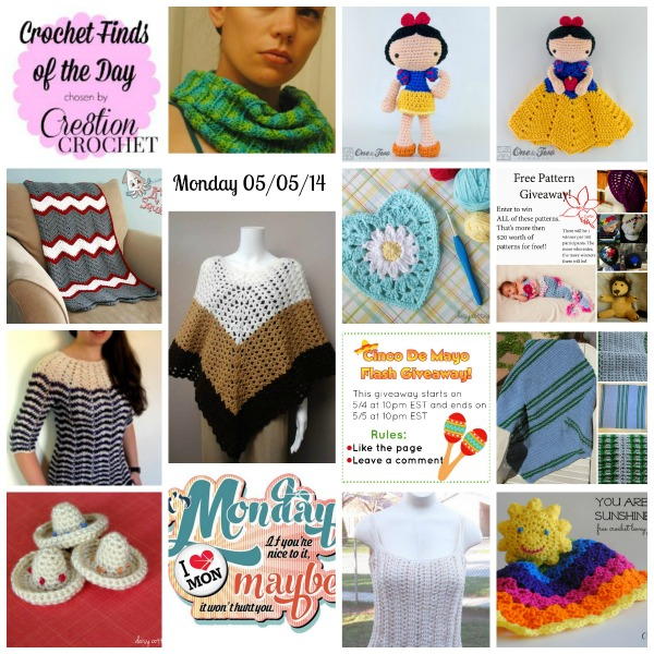 Cre8tion Crochet's Finds of the Day Monday May 05 2014 #cincodemayo #cre8tioncrochet