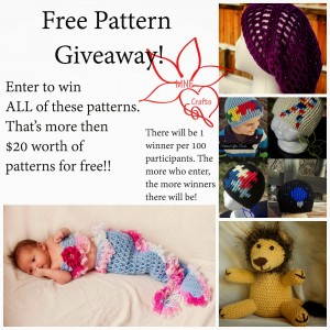 Pattern Giveaway Collage