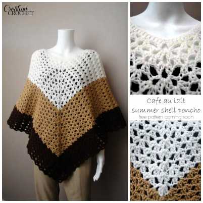 cafe au lait free pattern coming soon #cre8tioncrochet