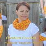 1 cover sunburst vacation scarf