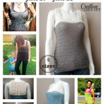Seaside Tank Pattern Giveaway - size sizes- FREE for two days only #cre8tioncrochet