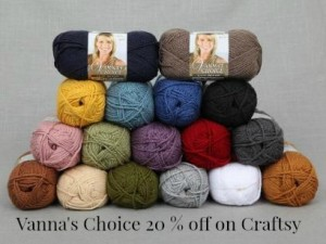 vannas choice yarn 20 off on craftsy