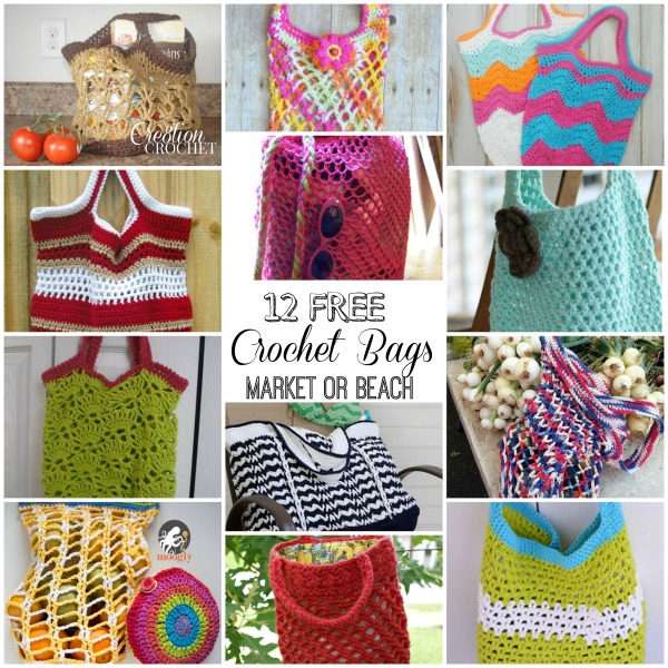 Crochet Bags For Kids Free Pattern : Bags, Bags, Bags - Cre8tion Crochet