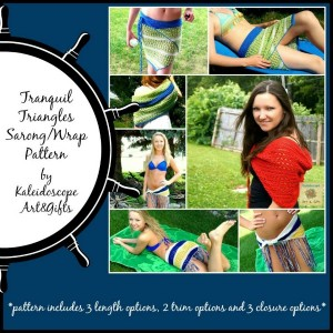 Tranquil Triangle Sarong