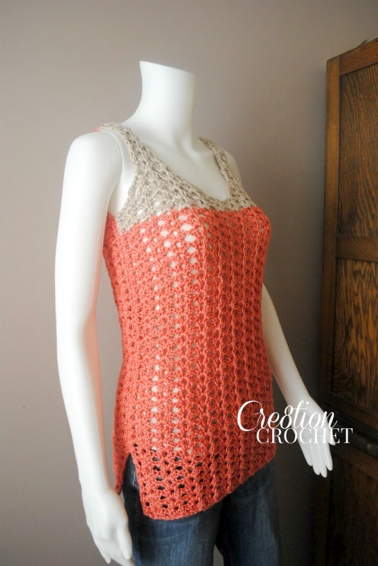 Free Crochet Toddler Tank Top Pattern : Crochet Free Lace Pattern Tank Top Crochet Free Patterns ...