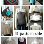 $1 pattern sale on Cre8tion Crochet