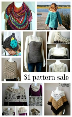 $1 pattern sale on Cre8tion Crochet