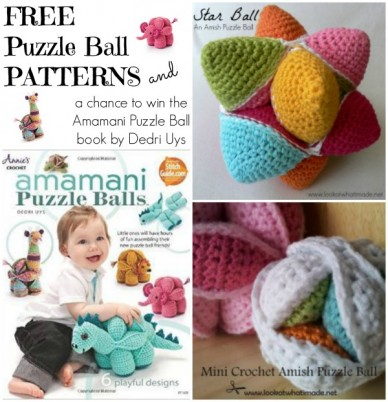 Free puzzle ball patterns and a chance to win Amamani Puzzle Balls by Dedri Uys
