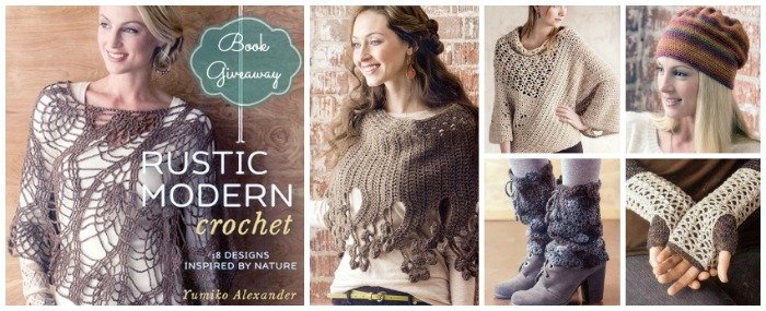 Book Giveaway and Review of Rustic Modern Crochet by Cre8tion Crochet