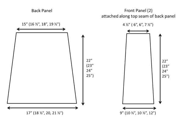 Schematic for Unique Shell Vest