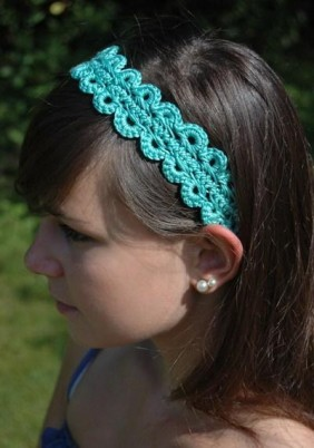 Calypso Crochet Head Band Pattern