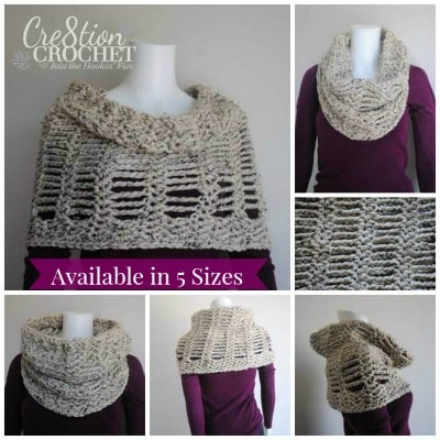 Cityscape Convertible Cowl 5 sizes
