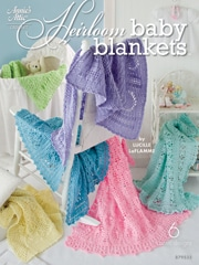 Heirloom Baby Blankets ebook on Leisure Arts
