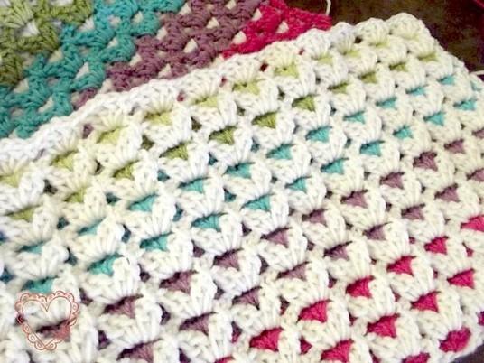 Ks Blanket Tutorial FREE Pattern on Craftsy
