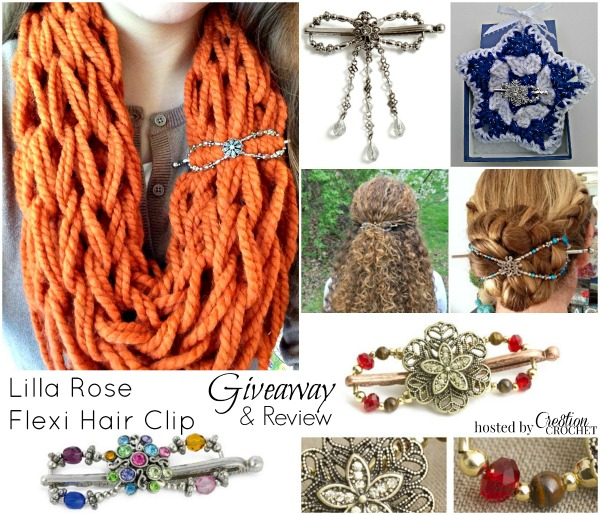 Lilla Rose Flexi Clips Giveaway & Reveiw hosted by Cre8tion Crochet