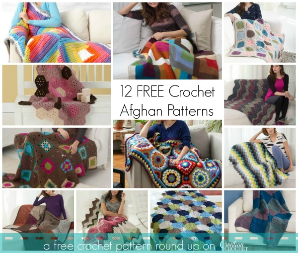 12 FREE Crochet Afghan Patterns ~ a free crochet pattern round up by #cre8tioncrochet