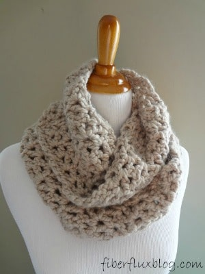 Pavement Infinity Scarf on Fiber Flux