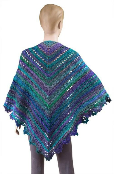 Great crochet shawl pattern on Crochet Finds by Cre8tion Crochet, The Penelope Shawl