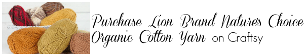 Purchase Lion Brand Nature's Choice Organic Cotton Yarn on Craftsy
