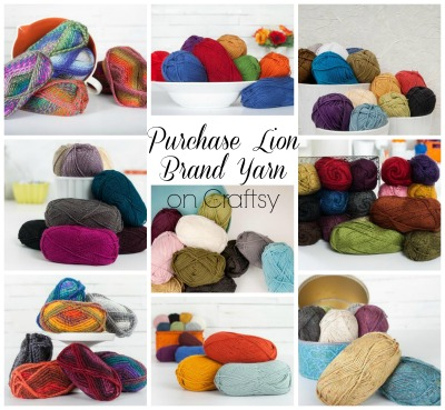 Purchase Lion Brand Yarn on Craftsy